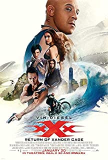 xXx: Return of Xander Cage Movie POSTER 27 x 40, Vin Diesel, Donnie Yen, A, MADE IN THE U.S.A.