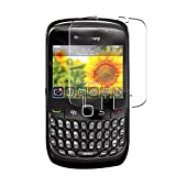 Vaxson 4 Unidades Protector de Pantalla, compatible con BlackBerry Curve 8520/9300 [No Vidrio Templado] TPU Película Protectora