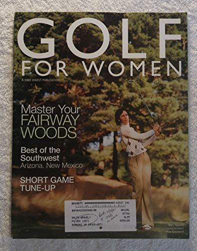 Kay Cockerill (NBC Sports Commentator) - Master Your Fairway Woods - Golf for Women Magazine - December 2001 - Best of the Southwest: Arizona, New Mexico