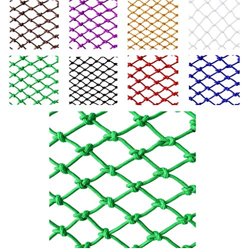 Purchase Green Anti-Fall Net, Baby Child Pet Balcony Staircase Window Sill Safety Net, Anti-Bird Net...