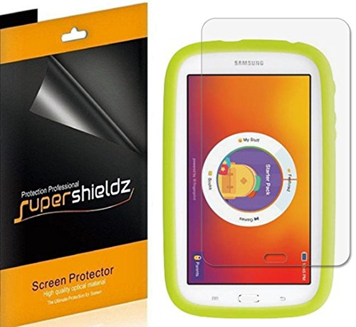 (3 Pack) Supershieldz Designed for Samsung Kids Galaxy Tab E Lite 7.0 7 inch Tablet Screen Protector, High Definition Clear Shield (PET)