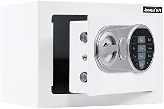JUGREAT Safe Box with Sensor Light,Electronic Digital Securit Safe Steel Construction Hidden with Lock,Wall or Cabinet Anc...
