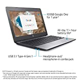 Compare technical specifications of HP Chromebook 11″ (5UY26UA#ABA)