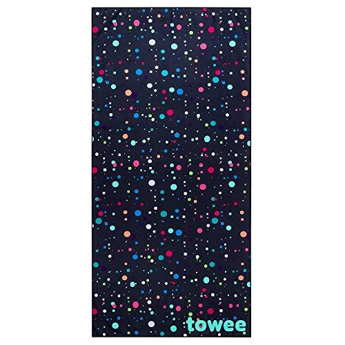 Towee praktische mikrofaser Handtücher - Schnelltrocknendes Microfaserhandtuch - Leichtes Fleece Badetuch in verschiedenen Größen - Perfektes Strandhandtuch für Fitness und Outdoor (Cosmic)