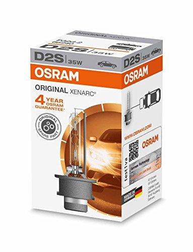 Osram FBA_66240 XENARC D2S ORIGINAL D2S HID Xenon-Brenner, Entladungslampe, Erstausrüsterqualität OEM, 66240, Faltschachtel (1 Stück)