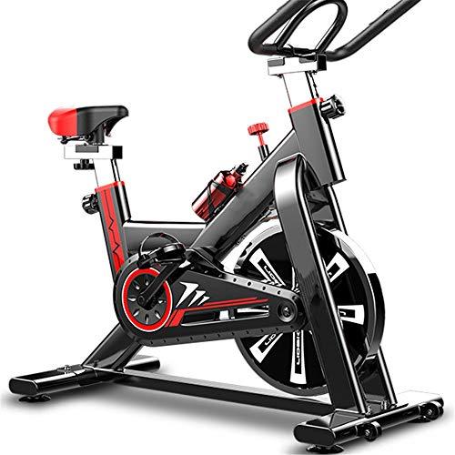 Bicicleta de ejercicio, Deportes casa en bicicleta bicicleta estática cubierta del pedal Silencio equipo de la aptitud de la bicicleta de ejercicio físico Equipo opcional multicolor Disfrutando de la