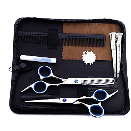 Juego de tijeras para peluquería, corte plano, para niños, alta calidad, precio bajo