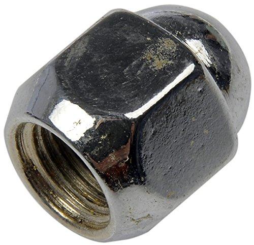 Dorman 611-076 Wheel Nut M12-1.25 Acorn - 19mm Hex, 24mm Length for Select Models - Chrome, 10 Pack