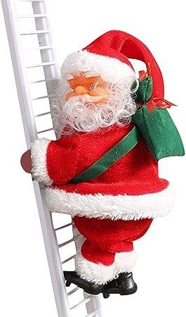 XXLYY Juguete de Escalada eléctrico de Papá Noel para árbol ...