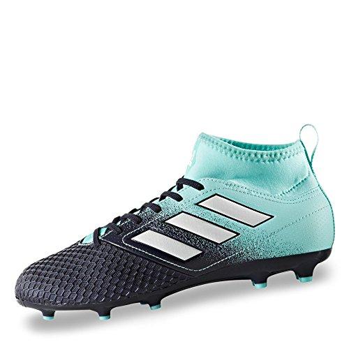 adidas Ace 73 Fg J, Scarpe per Calcio Bambino, Multicolore (Energy Aqua /Ftwr White/Legend Ink), 37 1/3 EU