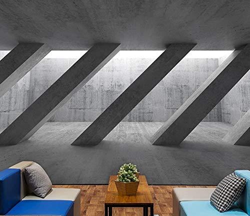 Wandvloer voor banken uit de kleding van melk thee, restaurant van Café van industriële beton Scandinavische persoonlijkheid 350cm*245