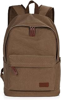 حقائب ظهر قماشية ممتازة من PEEJESUSSAR حقيبة ظهر كاجوال كبيرة للسفر والرحلات يوم المدرسة