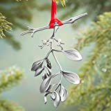 Cathedral Art Mistletoe Ornament