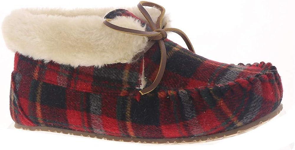 Minnetonka Women's Shoes Cabin Bootie Suede Closed Toe