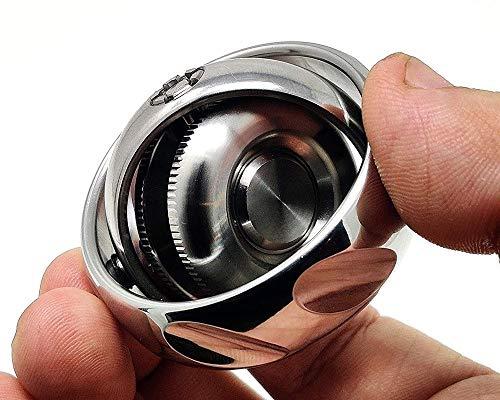 CLLOE El estrés yema del Dedo de la Mano Spinner EDC Spinners Metal Reductor de la Mano del Juguete Spinner Engranaje Vinculación Dedo Gyro Anti-Ansiedad rotador Juguete for Adultos