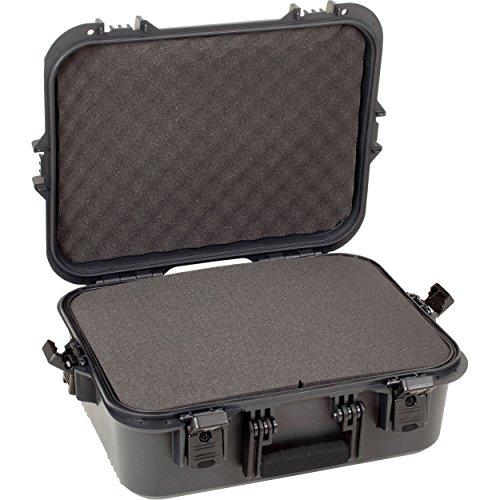 Plano AW-Serie Koffer für Pistolen und Zubehör, wetterfest, XL, Schwarze Griffe