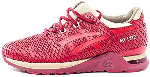 ASICS Unisex-Erwachsene Gel-Lyte Evo Sneaker, pink, 42.5 EU