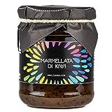 Cuvea - Mermelada gourmet de kiwi 230 gr - 100% italianas,Kiwi de Liguria - Vegano y Vegetariano
