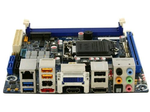 Intel Desktop Motherboard LGA1155 DDR3 1600 mini-ITX - BOXDH77DF