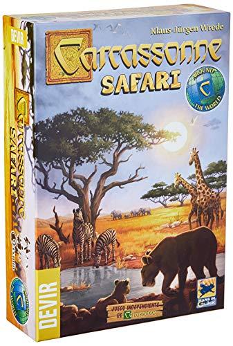 Carcassonne Safari Devir Multicolorido