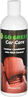 Go Green Leather Conditioner – Organic, 3 in 1 Leather Care, Cleans Protects and restores Your Leather, Unleash The Power of Coconut on Your Leather, Perfect for Gifts and Safe for Kids and Pets.