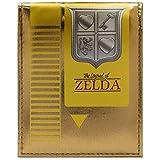 Legend of Zelda Cartuccia NES Retro Oro portafoglio