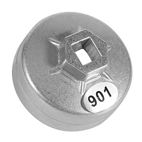 Ölfilterschlüssel, 65mm 14-Flöten-Kappe Ölfilterschlüssel-Sockel-Entferner-Werkzeug
