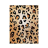 DENY Designs Amy Sia Animal Leopard Brown Poster, braun,