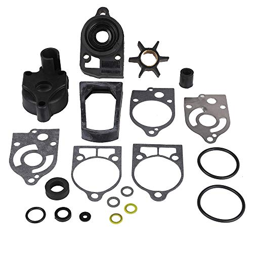 77177A3 Water Pump Repair Kit with Housing Replacement for Mercury and Mariner 2-Cycle Outboards 30 HP - 70 HP - Replace 46-77177A3 Sierra 18-3324 GLM12100