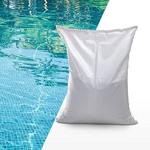 Monzana 25 kg Filterglas Sandfilterglas Sandfilteranlage 0,4-0,8mm Körnung Filtergranulat Filtermedium Glasfiltersand Pool