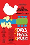 Woodstock - Concert Poster Laminiertes Plakat (60,96 x