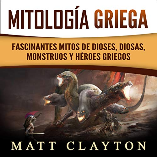 Mitología Griega [Greek Mythology] audiobook cover art