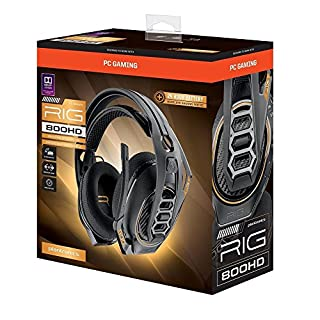 Plantronics RIG 800HD Headsets PC Black (20680003) (B07DR8V2N8) | Amazon price tracker / tracking, Amazon price history charts, Amazon price watches, Amazon price drop alerts