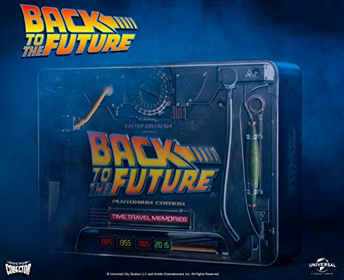 Back To The Future Doctor Collector Time Travel Memories Kit Plutonium Edition