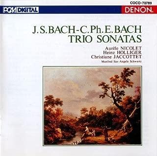 J.S. Bach & C.Ph.E Bach: Trio Sonatas