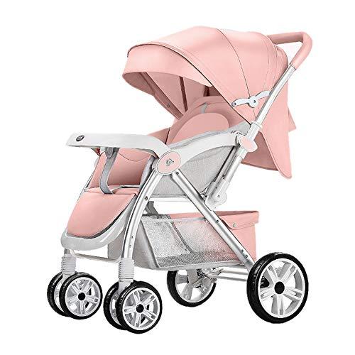 Kinderwagen Baby Kinderwagen, Draagbare Lichtgewicht Reiswagen, Kan Zitten of Liggen Vouwen Baby Kind Paraplu Winkelwagen, met Flessenrek