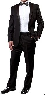 black and gray tuxedo