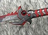 S1096 Overwatch Over Watch ONI Genji MURAMASA Sword W/Ghost RED Black Eye 41'