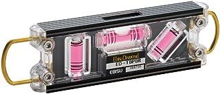 エビス(EBISU) 水平器 トビレベル・プロ ED-TBPBR 足場組立用 ブラック/レッド