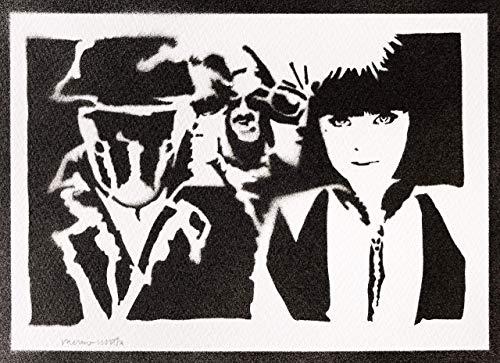 Watchmen Poster Die Wächter Plakat Handmade Graffiti Street Art - Artwork