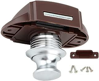 Gorgeri Boat Push Button Lock, Car Boat Keyless Lock Button Lock RV Cabinet Drawer Safety Latch Lock