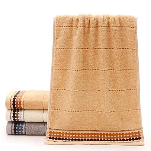 Xiaobing Toalla Suave de algodón Puro para Adultos Toalla de baño para niños del hogar Toalla de Cara Toalla de baño para Parejas -2-75x35cm