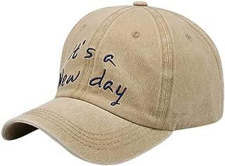 Men Women Baseball Cap Plain Cotton Adjustable Washed Twill Low Profile Hat Sun Hats Trucker Caps
