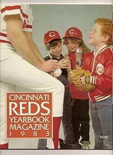1983 cincinnati reds official yearbook program ROSE