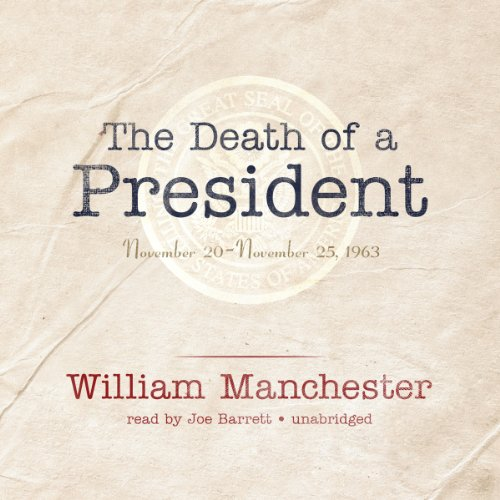 The Death of a President audiobook cover art