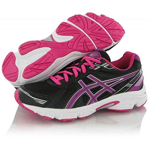 ASICS Gel Galaxy 7 GS - Zapatillas de Running para niños, Color Negro/Morado/Rosa, Talla 35.5