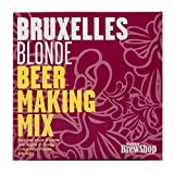 Brooklyn Brew Shop Bruxelles Blonde Beer Making Mix: All-Grain Beer Making Mix Including Malted Barley, Hops And Yeast - Perfect For Brewing Craft Beer On Your Stove at Home (GMBUX)