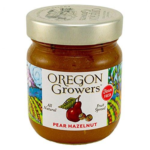 Oregon Growers & Shippers Pear Hazelnut Fruit Spread 12 oz.