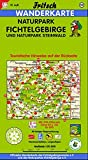 Fritsch Karten, Nr.52, Naturpark Fichtelgebirge und Naturpark Steinwald (Fritsch Wanderkarten 1:50000)
