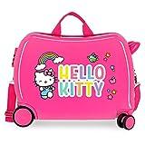 Hello Kitty You are Cute Valigia per bambini Rosa 50x39x20 cms Rigida ABS Chiusura a combinazione numerica 38L 2,1Kgs 4 Ruote Bagaglio a mano
